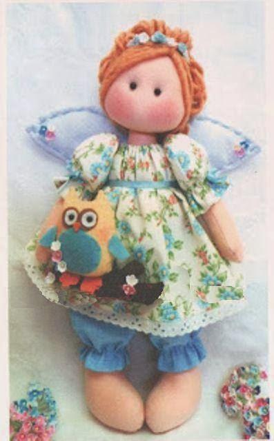 Куколка с совушкой. Выкройка (1) (397x640, 180Kb)