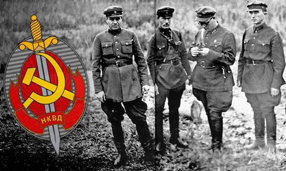 Оружие НКВД. То, чем пользовалась элита Советских правоохранителей.