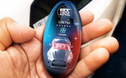 Nissan разработал для GT-R невероятный ключ