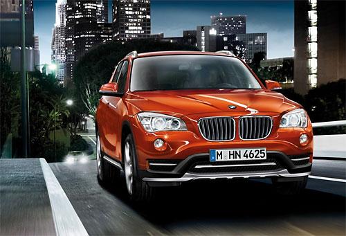 Рестайлинговый BMW Х1 представят в Детройте
