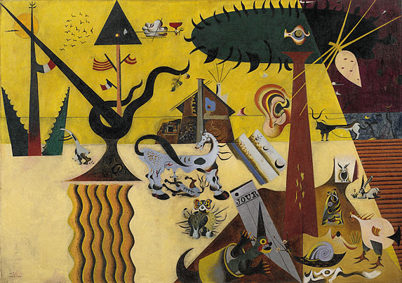 Хуан Миро: разнообразие стилей и форм