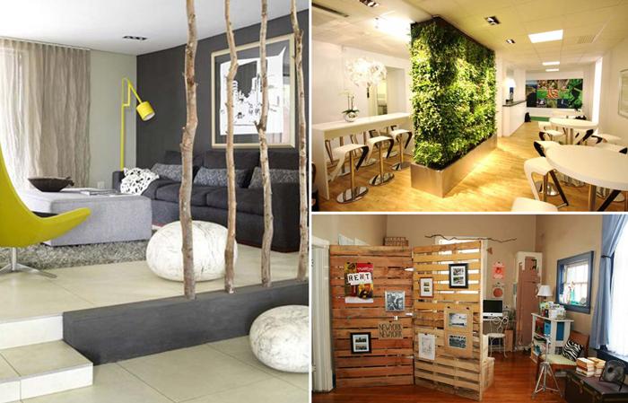 15 перегородок для зонирования пространства в маленькой квартире