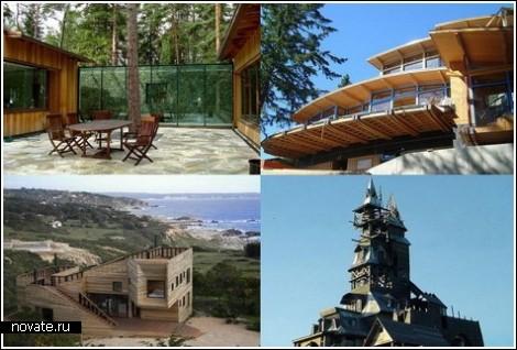 Срубы 21-го века. Обзор современных деревянных домов
