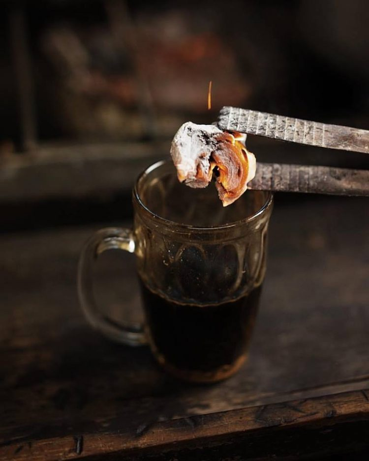 Самый горячий и необычный кофе в мире!