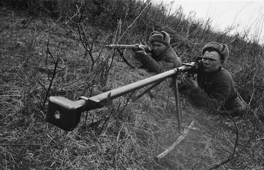 Охота на танки: как советские ружья остановили нацистскую бронетехнику