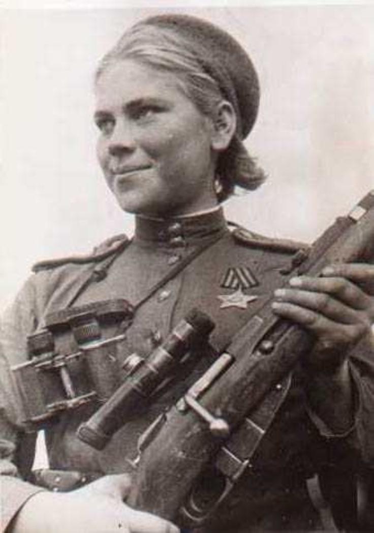 Девушки снайпера великой отечественной войны
