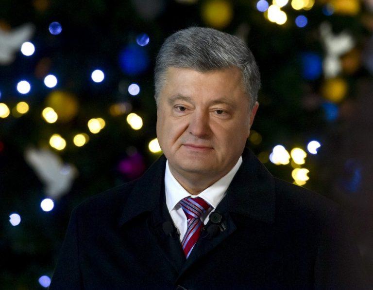 Вместо пожеланий критика России: как Порошенко украинцев с Новым годом поздравлял