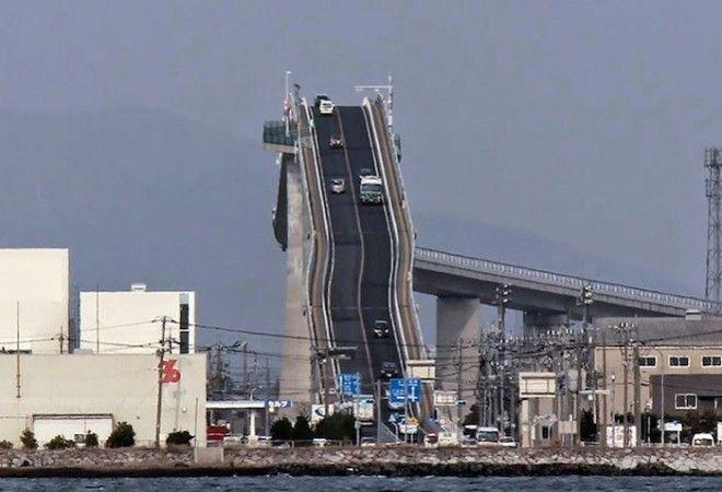 Так выглядит самый крутой и самый высокий пост в Японии