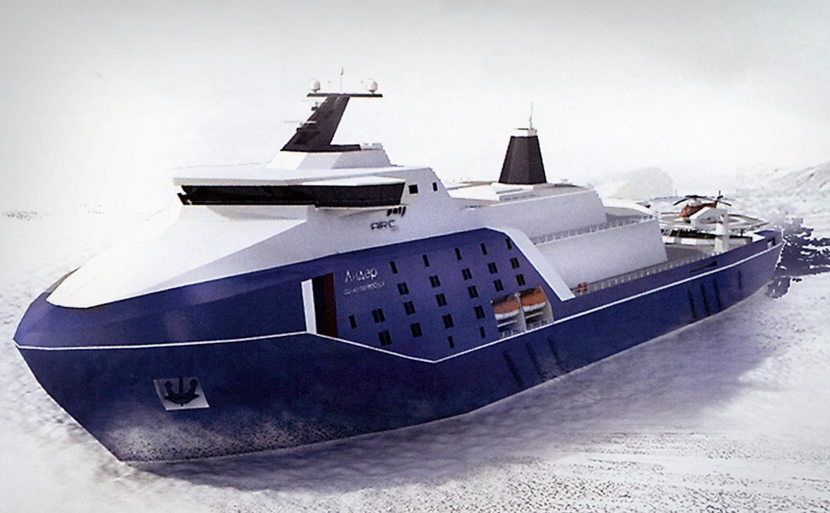 Вопрос финансирования строительства атомных ледоколов типа «Лидер»