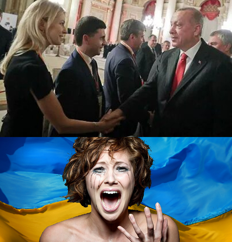 Рукопожатие Поклонской с Эрдоганом вызвало истерику в Киеве