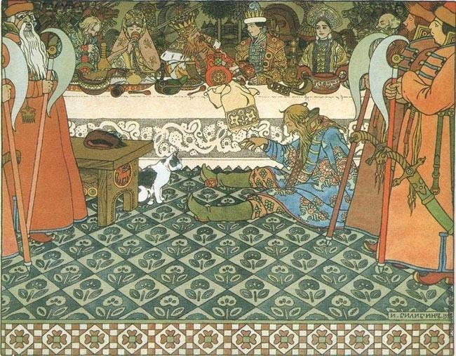 Сказочный ужас: пугающие картины, посвящённые русским сказкам (19 фото)