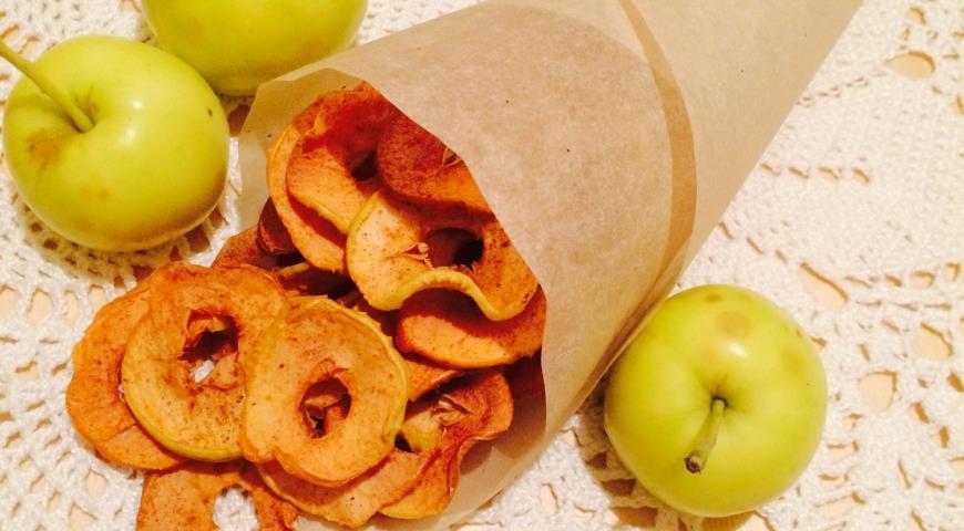 Чипсы … из яблок (не реклама, а идея по импортозамещению)
