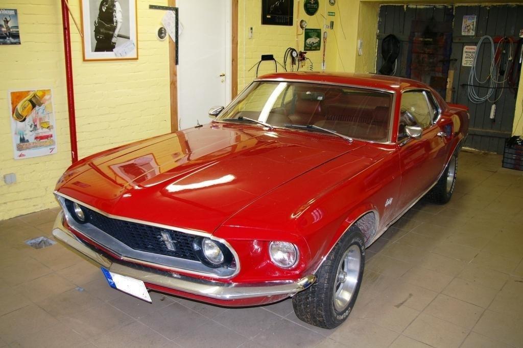 Второе дыхание Ford Mustang 1969
