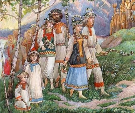 Не время играть майскую свадьбу! Поминовение предков!