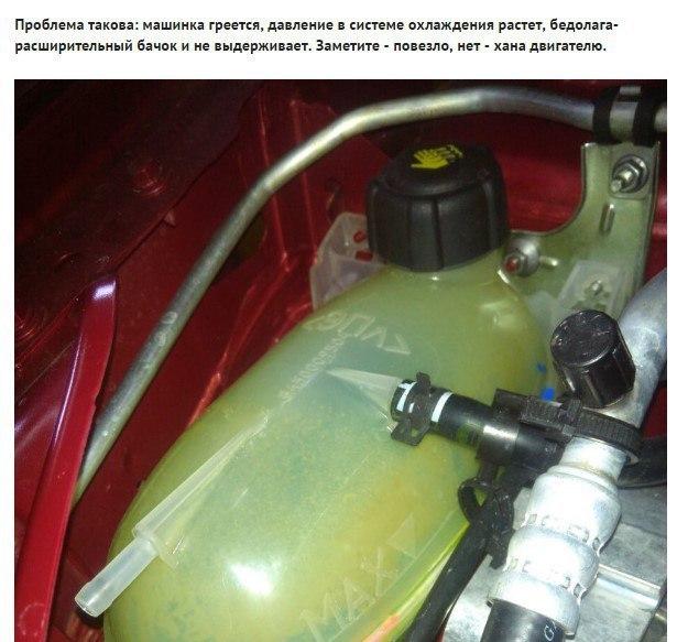 Lada Xray и расширительный бачок системы охлаждения