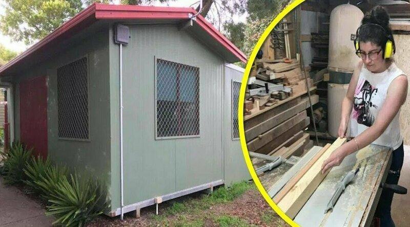 Мама-одиночка сама построила дом за $ 10 000, чтобы не брать жильё в ипотеку