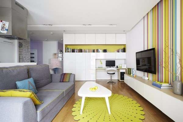 Маленькие квартиры студии: дизайн и 30 фото интерьеров