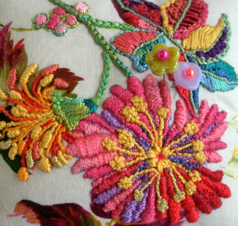 Роскошные идеи для вышивки