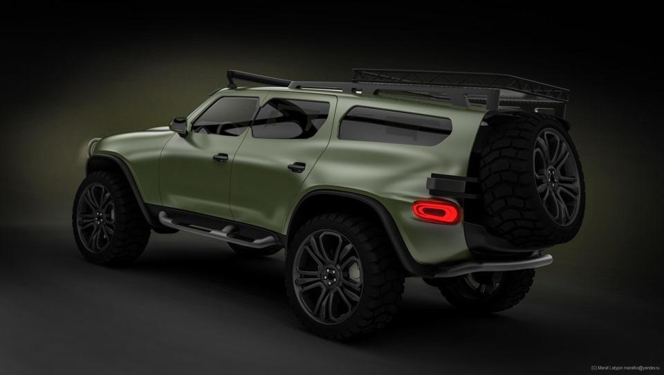 Свежая информация о новом УАЗ-3170