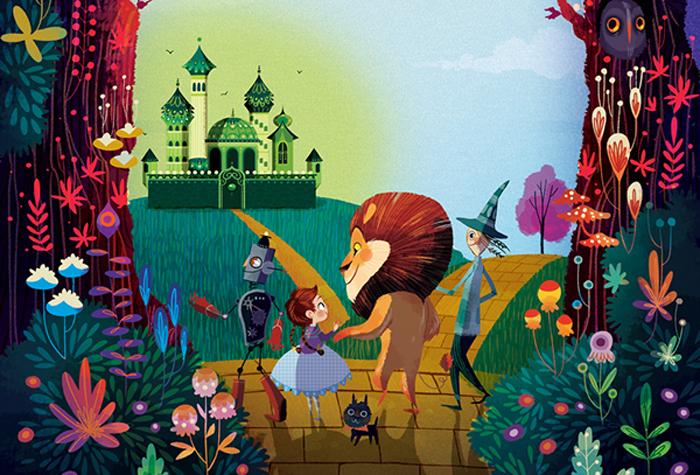"""""""Волшебник Изумрудного Города"""": сказочно красивые иллюстрации для известной книги"""