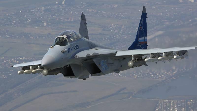 Заводские испытания нового многоцелевого истребителя МиГ-35 завершены