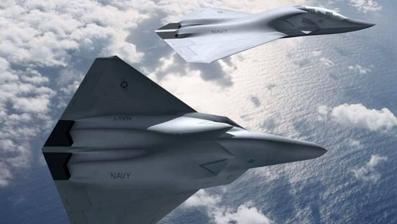 Истребители шестого поколения для ВВС и ВМС США. Планы и желания