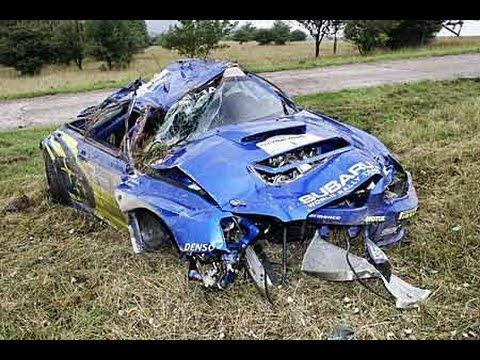 Отборные аварии на раллийных гонках WRS. Rally crashes WRS