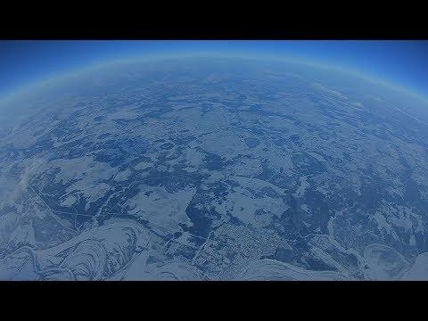 Высота 10 000 метров покорилась самодельному дрону весом 1 килограмм