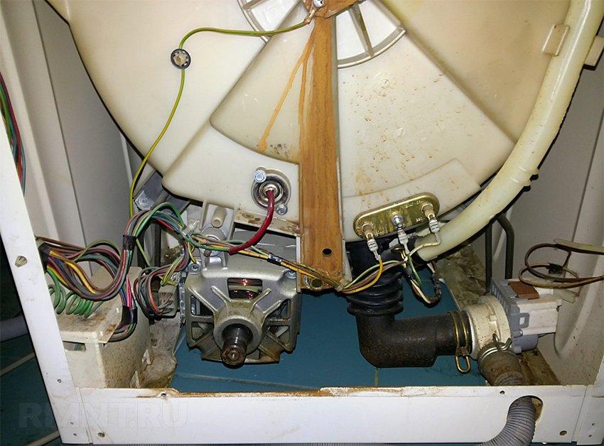 Ремонт стиральной машины своими руками вода в машине