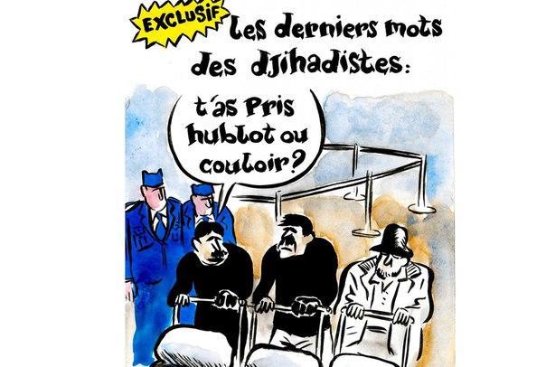 Charlie Hebdo посмеялся над залитым кровью аэропортом Брюсселя