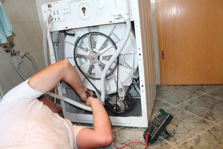 Стиральная машина: поиск неисправности и ремонт своими руками
