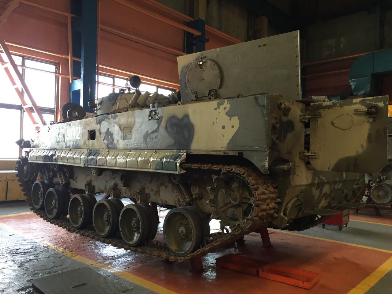 Контракт на ремонт боевых машин пехоты БМП-3