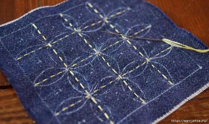 Игольница из джинсов с вышивкой (8) (700x416, 264Kb)