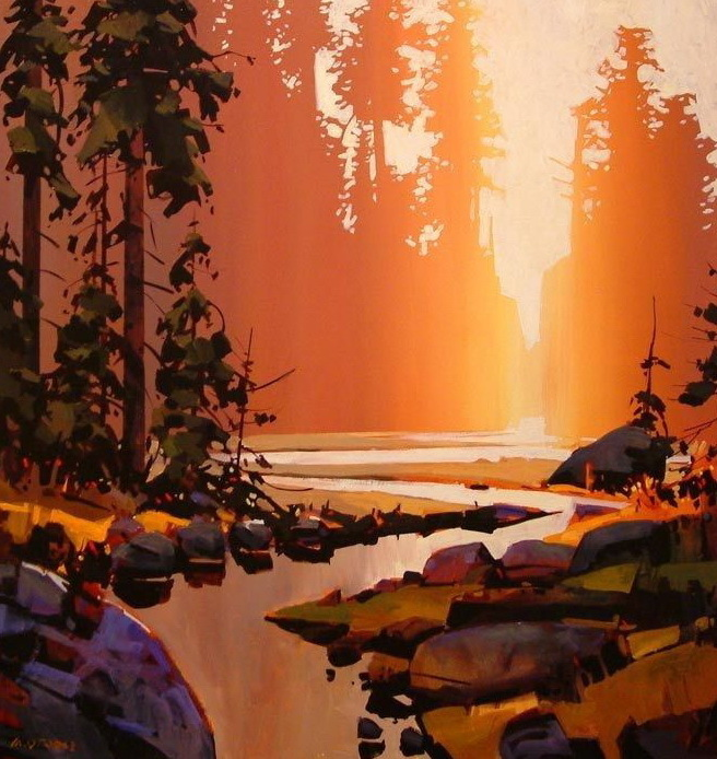 Эмоции и мастерство в работах канадского художника