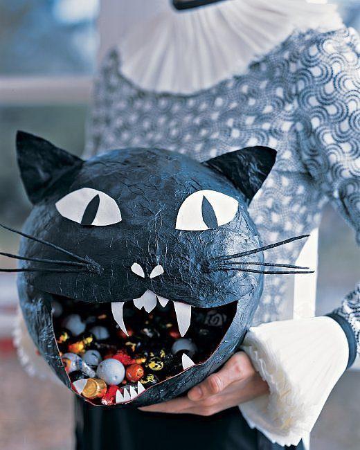 Кот-конфетница