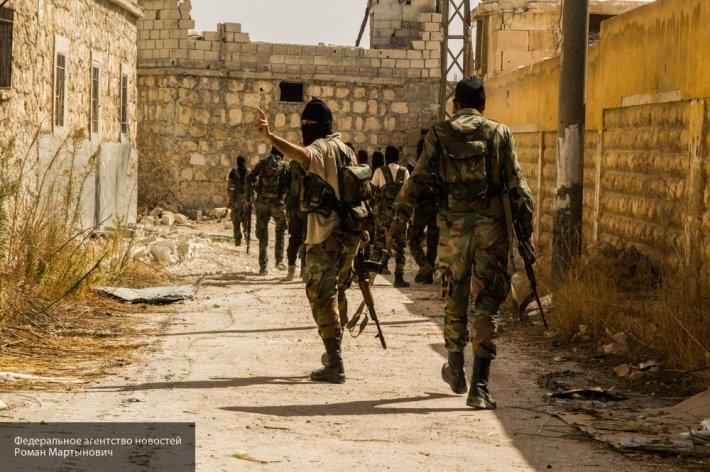 Сирийская армия возобновила наступление на позиции боевиков в районе города Хараста