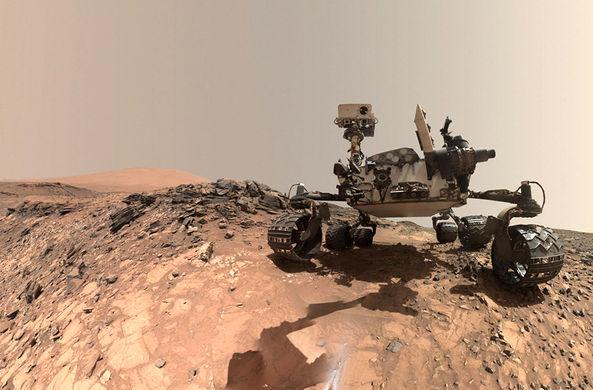 Марсоход Curiosity обнаружил на Марсе органику