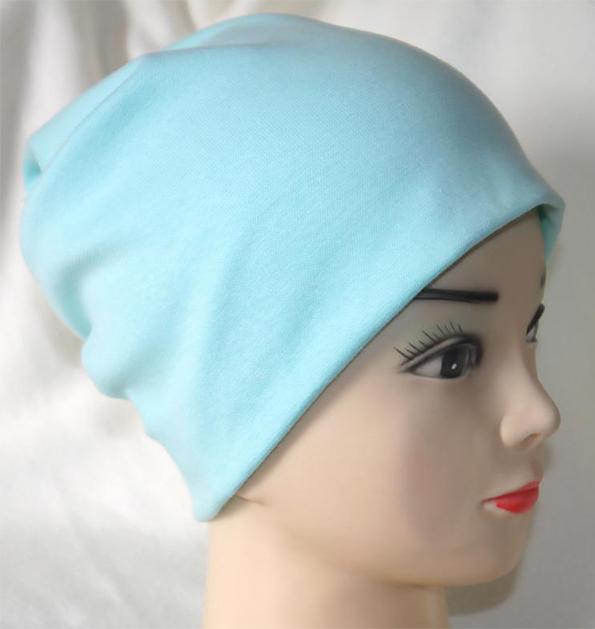 Сшить шапку женскую из трикотажа