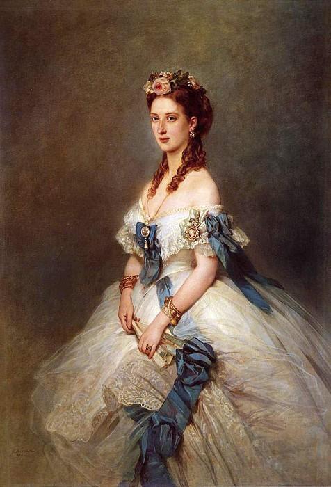 Портрет Александры, принцессы Уэльской. 1864 год.