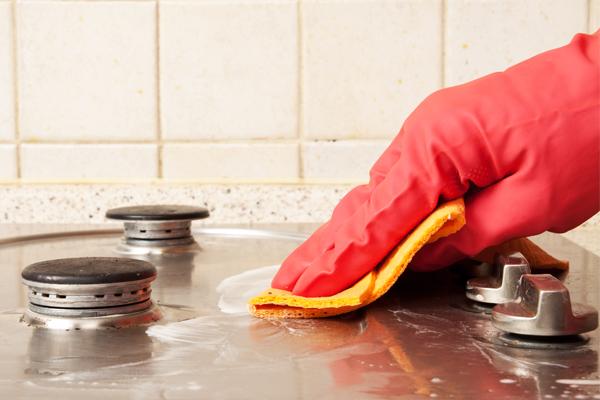 Как быстро помыть плиту. Проверено!
