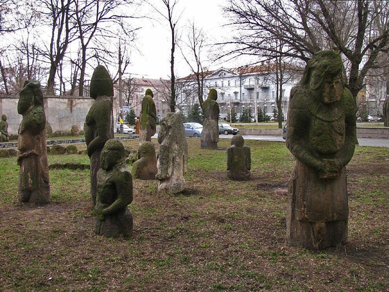Половецкие каменные «бабы» —…