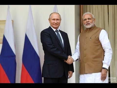 Журналисты подвели итоги встречи Путина с индийским руководством