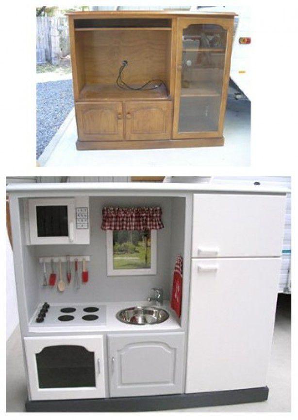 Не знаешь, куда пристроить старую мебель - сделай из нее что-нибудь полезное для своего ребенка! мебель, новая жизнь, переделка, старье