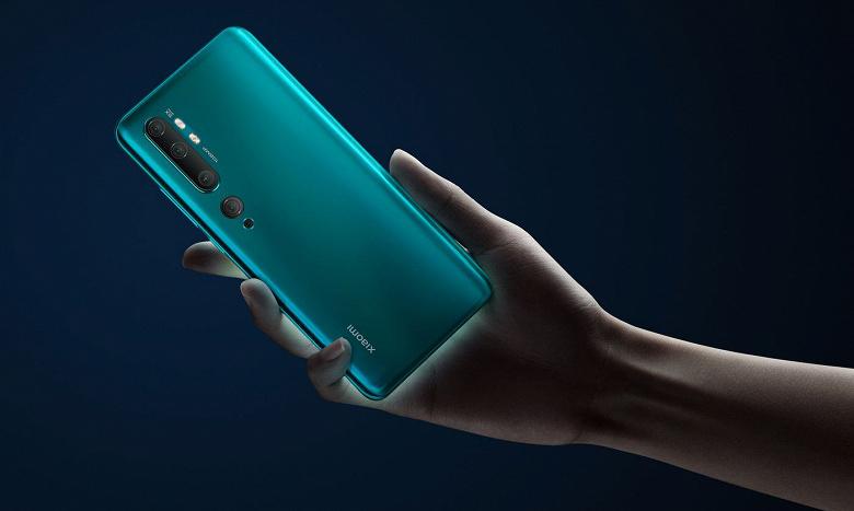 OLED-экран для Xiaomi Mi Note 10 имеет неожиданное происхождение