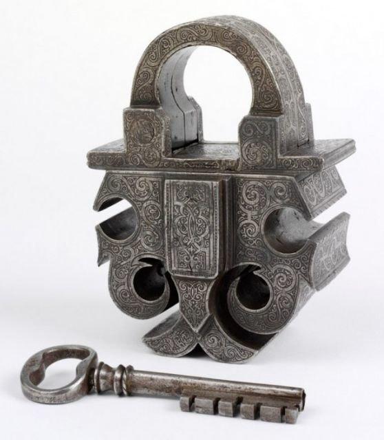 Замок и ключ. Германия, 1580 год. СССР, история, фото