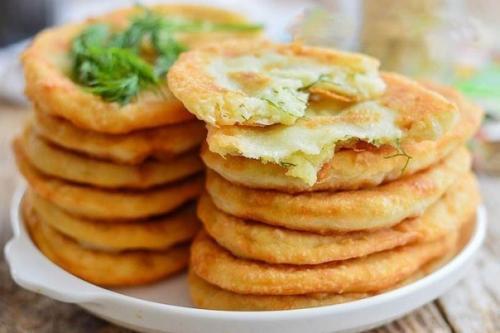 Вкусные пирожки с картошкой на кефире!