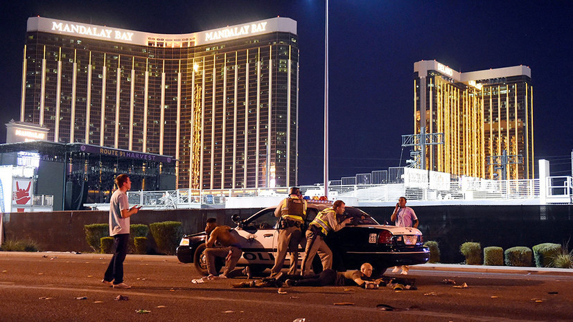 «Были слышны сотни выстрелов»: жертвами стрельбы в Лас-Вегасе стали более 50 человек