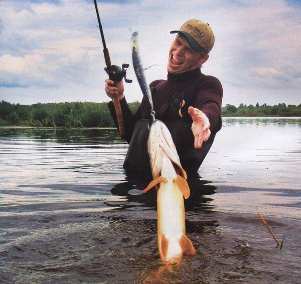 ловля разной рыбы на спиннинг