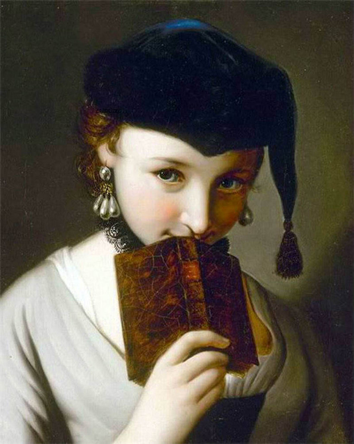 Я вглядываюсь в Ваш портрет… Художник Pietro Antonio Rotari (1707-1762)