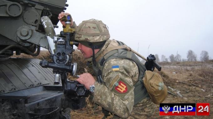 Сводка с линии фронта ДНР на 21 октября